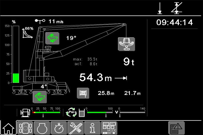 Crane Control System Litronic - Liebherr