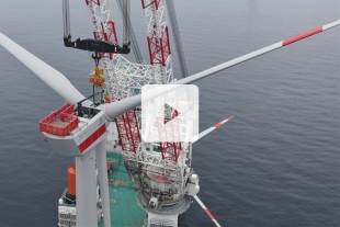 Video CAL 4500 Offshore Windparkinstallation in der Nordsee