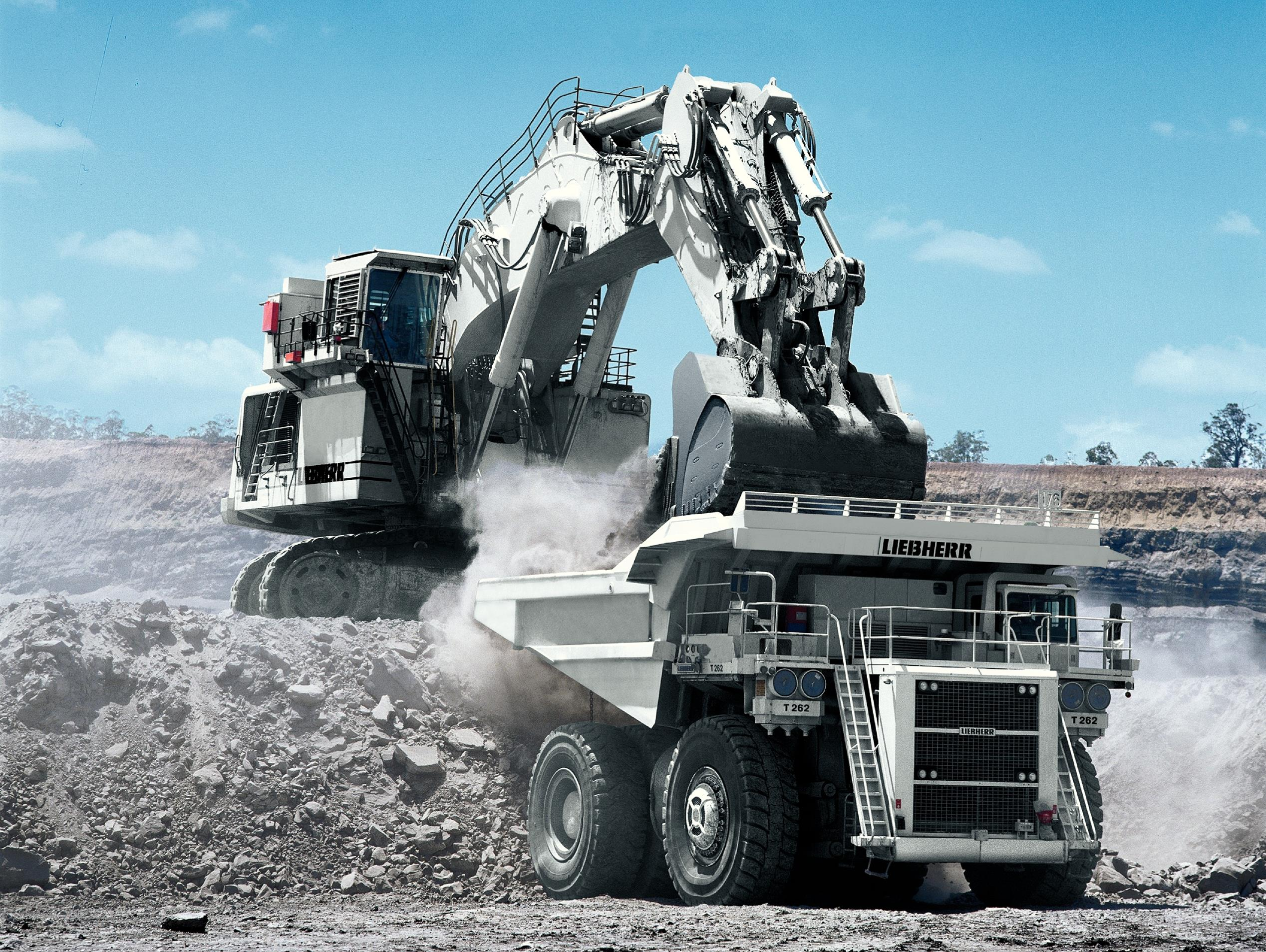 Mining liebherr - Mining images hd ...