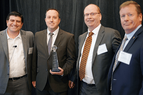 Liebherr-Ghana Ltd. wins 2014 Supplier of the Year Award from Newmont Mining Corporation
