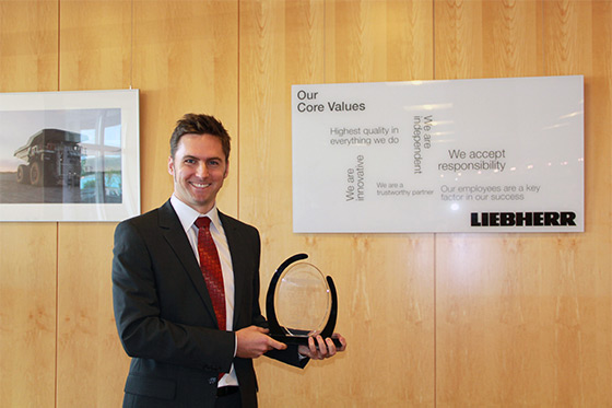 Liebherr Mining Equipment Newport News Co. awarded by the Balanced Scorecard Institute