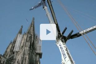 ltm 1750 9 1 mobile crane in use at cologne cathedral liebherr. Black Bedroom Furniture Sets. Home Design Ideas