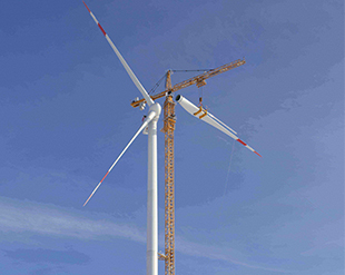 Easy installation of the rotor blades